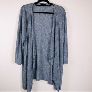 MAX Grey Long Sleeve Duster Size 18